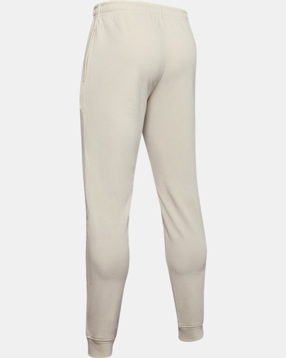 Men's Project Rock Terry Joggers, White, pdpMainDesktop image number 5