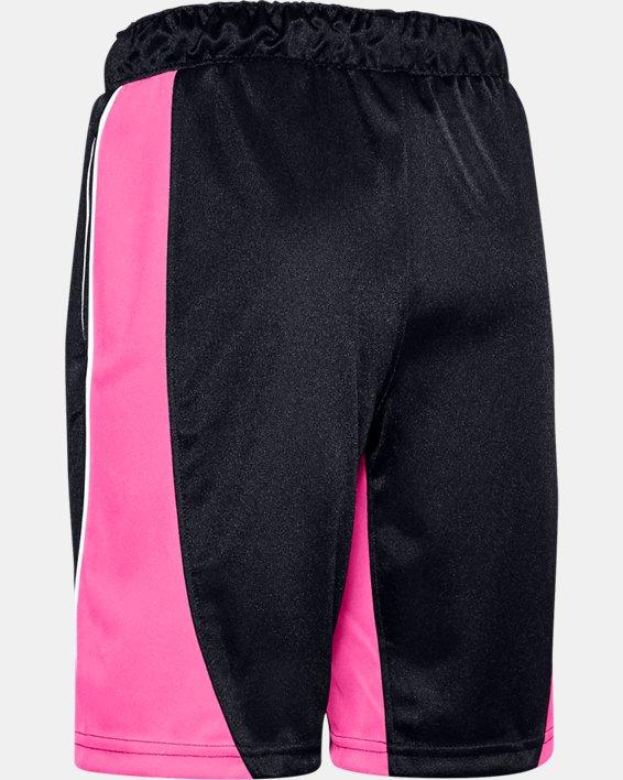 Girls' UA Basketball Shorts, Black, pdpMainDesktop image number 1