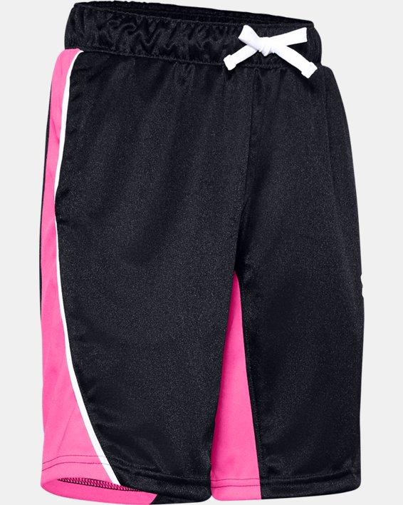 Girls' UA Basketball Shorts, Black, pdpMainDesktop image number 0