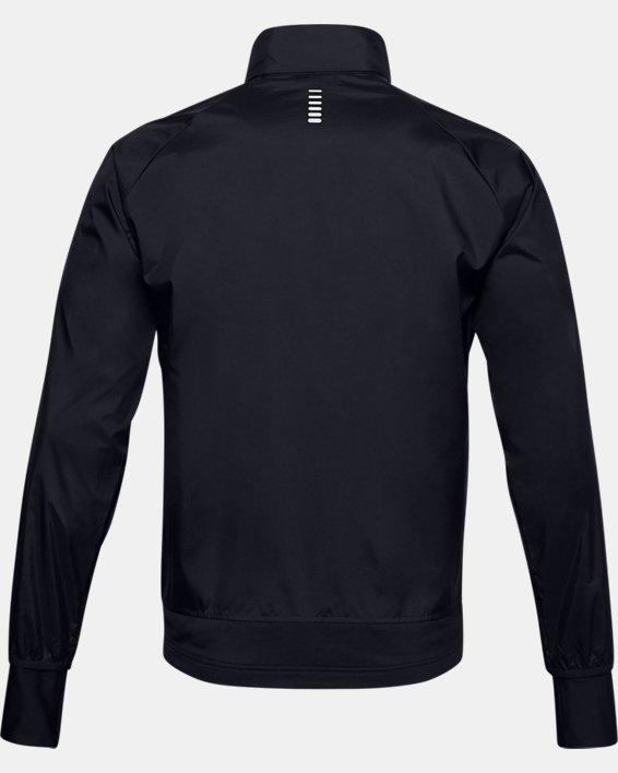 Men's UA Run Insulate Hybrid Jacket, Black, pdpMainDesktop image number 4
