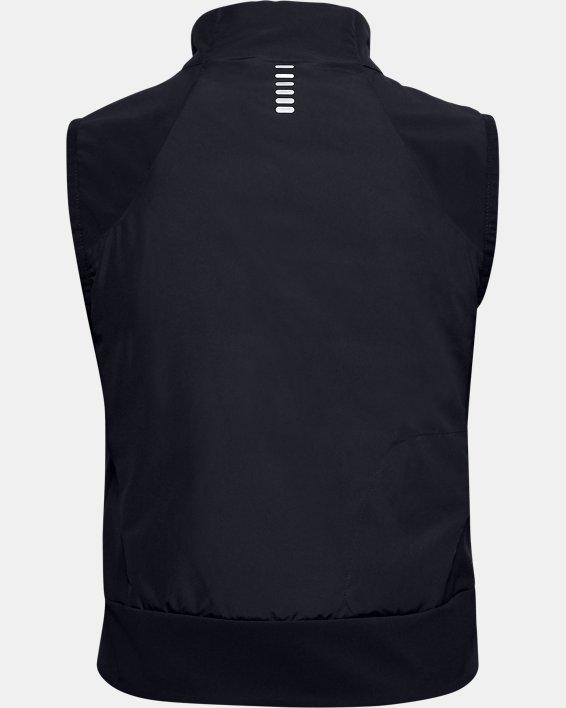 Women's ColdGear® Reactor Run Vest, Black, pdpMainDesktop image number 6