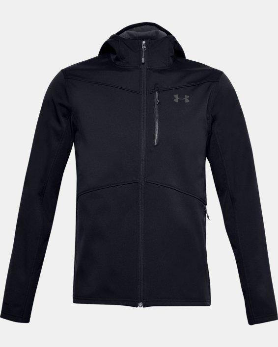 Herren ColdGear® Infrared Shield Jacke mit Kapuze, Black, pdpMainDesktop image number 5