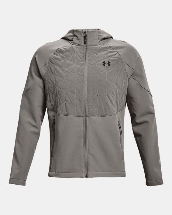Men's ColdGear® Reactor Hybrid Lite Jacket, Gray, pdpMainDesktop image number 5