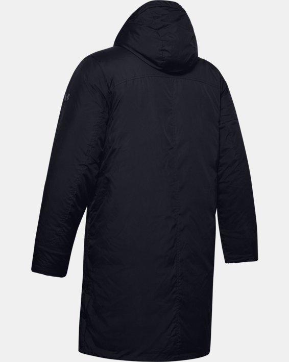 Men's UA Armour Insulated Bench Coat, Black, pdpMainDesktop image number 4