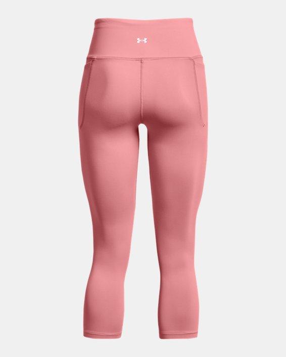 Legging court UA Meridian pour femme, Pink, pdpMainDesktop image number 1