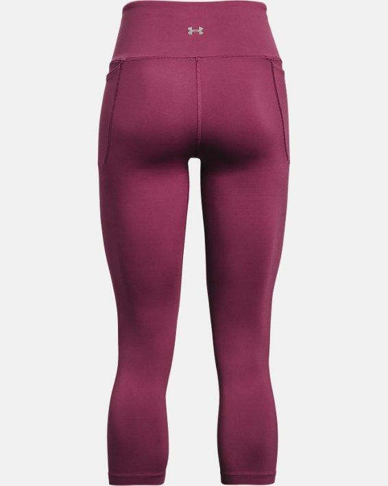 Women's UA Meridian Crop, Pink, pdpMainDesktop image number 5