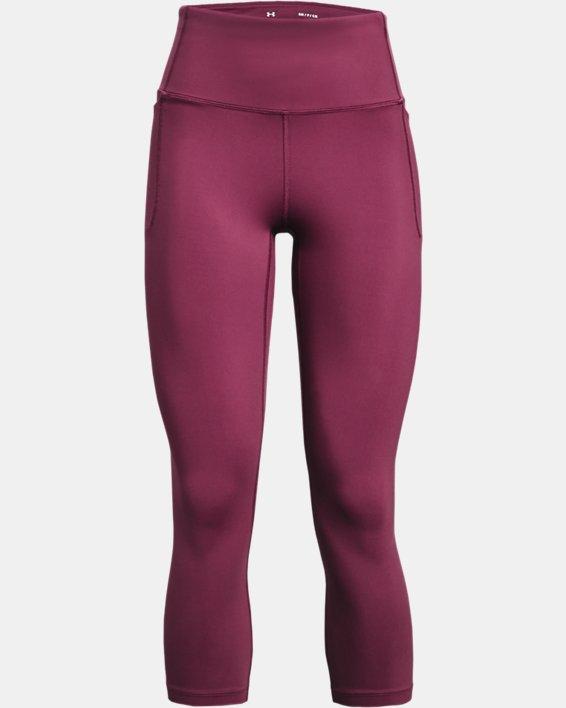 Women's UA Meridian Crop, Pink, pdpMainDesktop image number 4