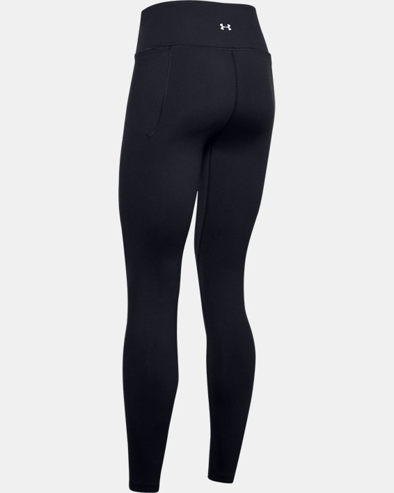 Women's UA Meridian Leggings, Black, pdpMainDesktop image number 4
