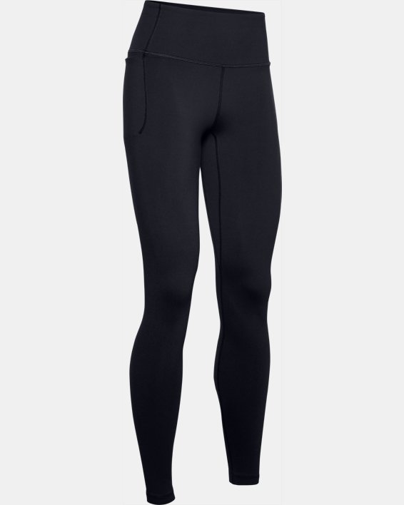 Women's UA Meridian Leggings, Black, pdpMainDesktop image number 3