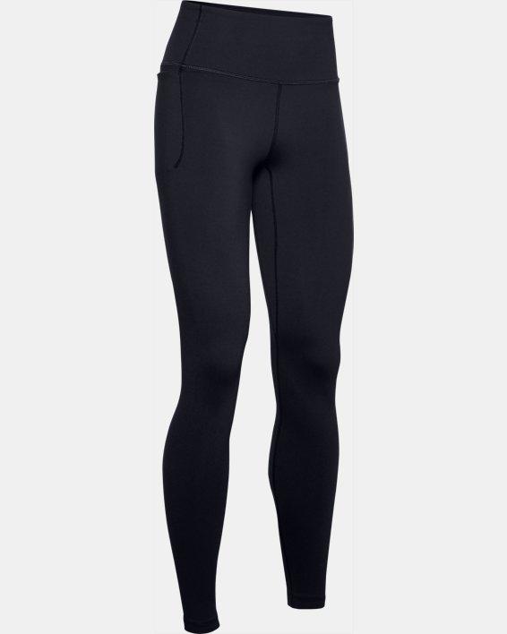 Women's UA Meridian Leggings, Black, pdpMainDesktop image number 3