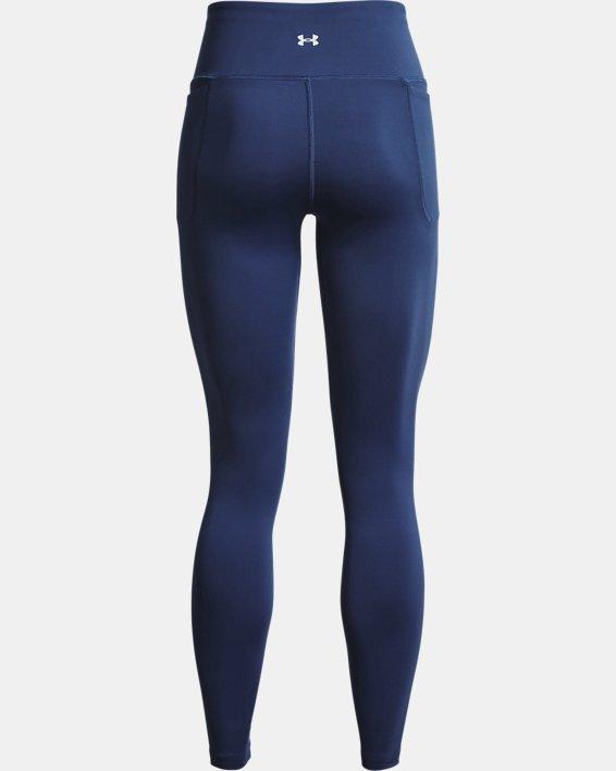 Women's UA Meridian Leggings, Blue, pdpMainDesktop image number 5