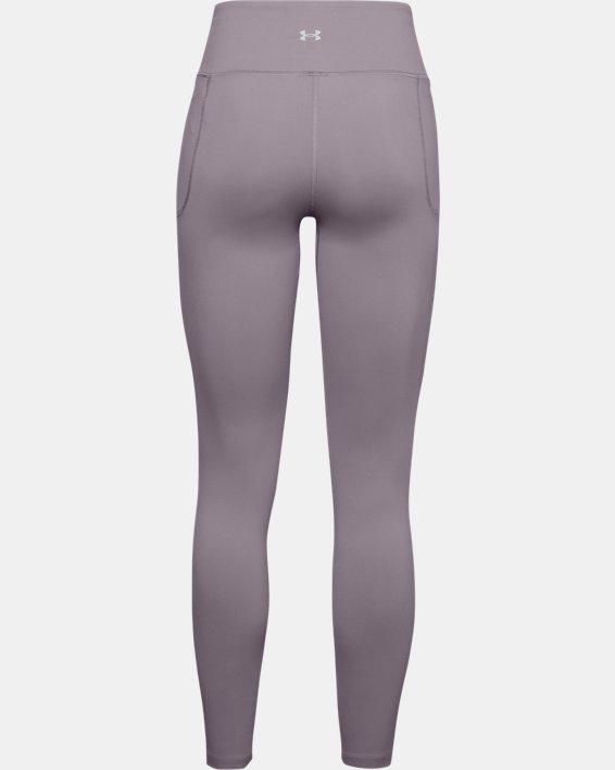 Women's UA Meridian Leggings, Purple, pdpMainDesktop image number 4