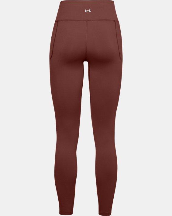 Women's UA Meridian Leggings, Red, pdpMainDesktop image number 4