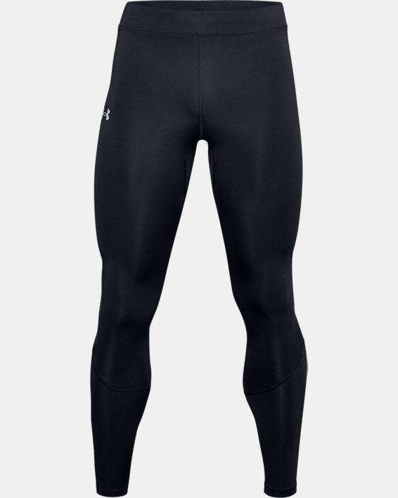 Men's UA Fly Fast HeatGear® Tights, Black, pdpMainDesktop image number 4