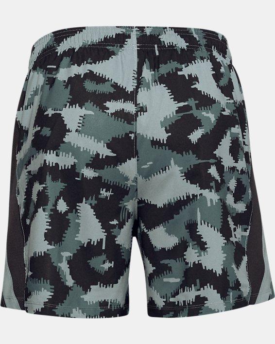 Men's UA Launch SW 5'' Camo Shorts, Black, pdpMainDesktop image number 3