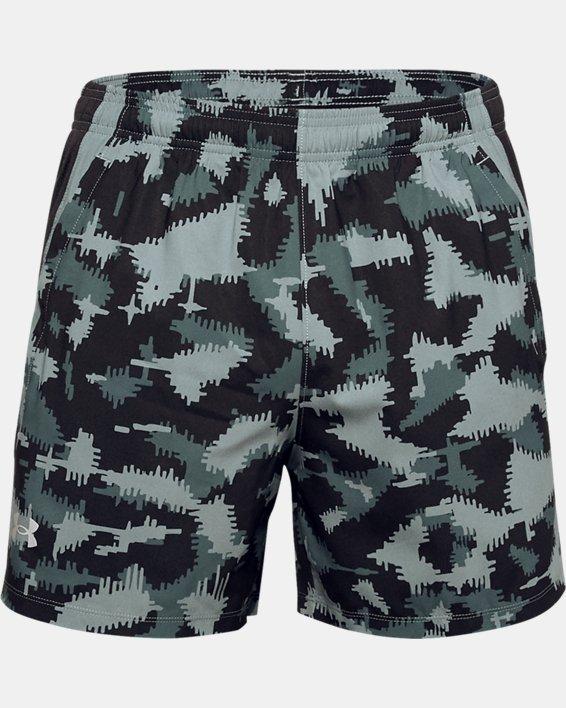 Men's UA Launch SW 5'' Camo Shorts, Black, pdpMainDesktop image number 2