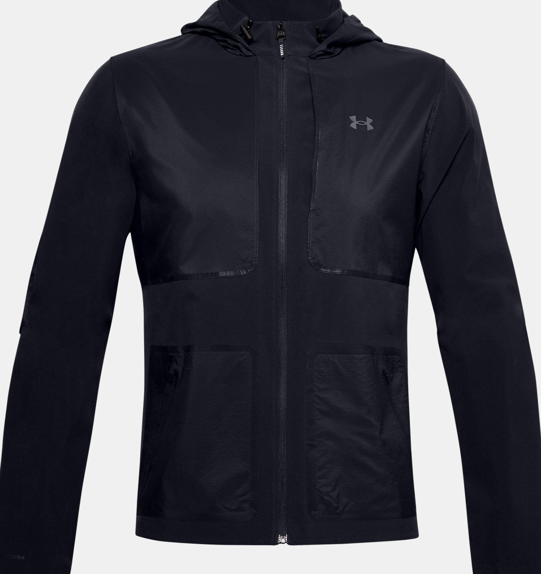 Underarmour Mens UA Qualifier Storm Speedpocket Jacket