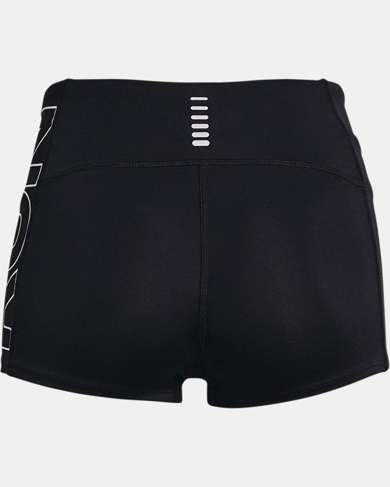 Women's UA Launch Mini Shorts, Black, pdpMainDesktop image number 5