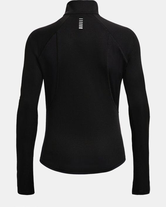 Women's UA Speed Stride Attitude ½ Zip, Black, pdpMainDesktop image number 4