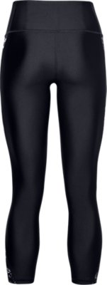 Under Armour Balance Q1 Womens Training Tights Black Graphic Stretchy Gym Tight