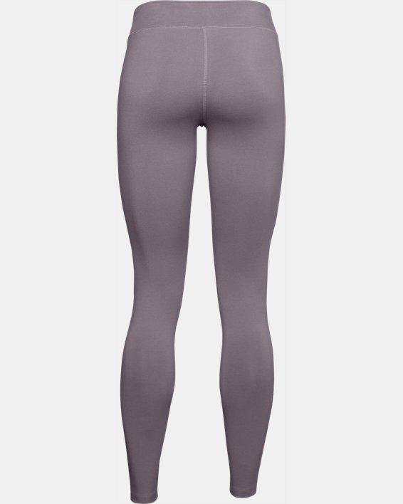 Women's UA Favorite Wordmark Leggings, Purple, pdpMainDesktop image number 5