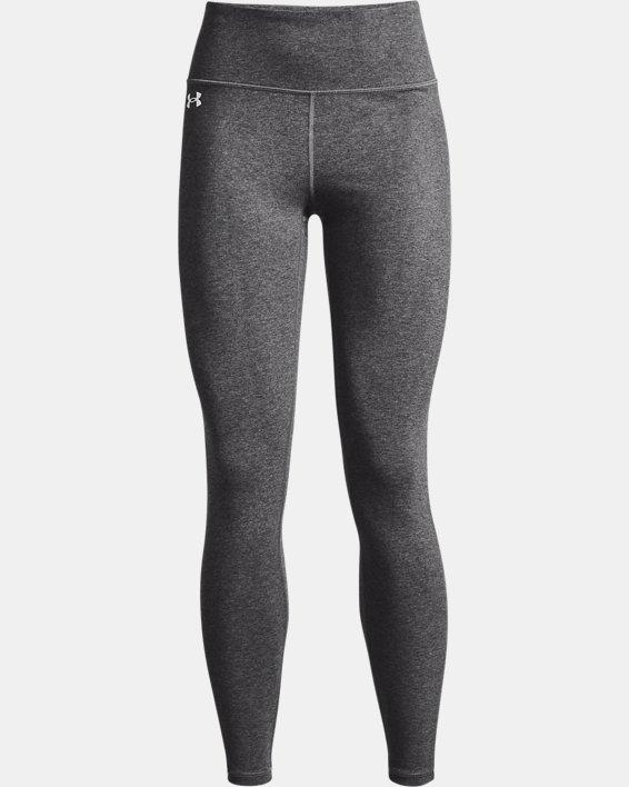 Legging UA Favorite Hi-Rise para mujer, Gray, pdpMainDesktop image number 3