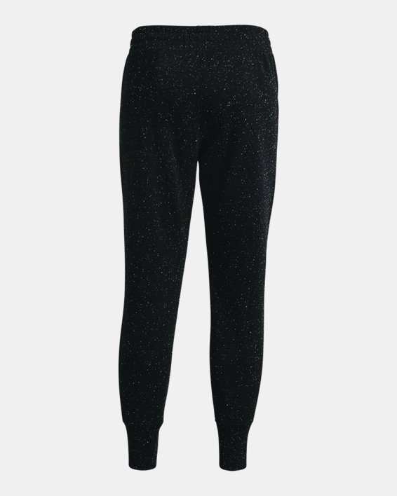 Women's UA Rival Fleece Joggers, Black, pdpMainDesktop image number 5