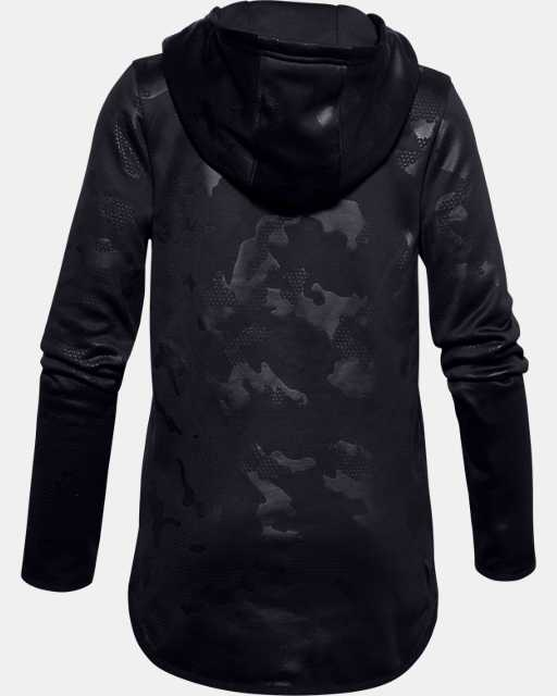 Girls' Armour Fleece® Big Logo Printed Hoodie
