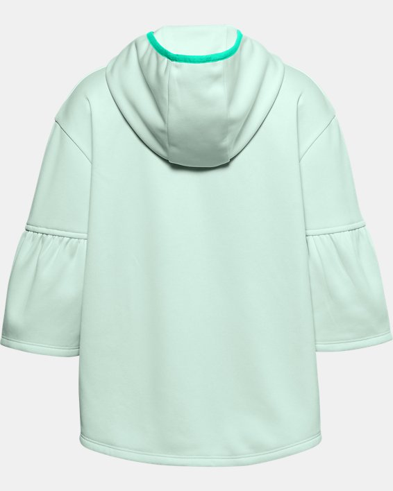 Girls' Armour Fleece® Poncho, Blue, pdpMainDesktop image number 1