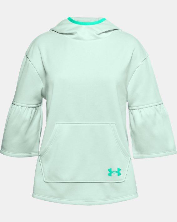 Girls' Armour Fleece® Poncho, Blue, pdpMainDesktop image number 0