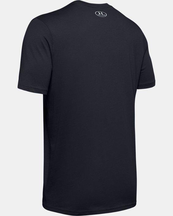 Men's UA UWW Pride Short Sleeve, Black, pdpMainDesktop image number 4