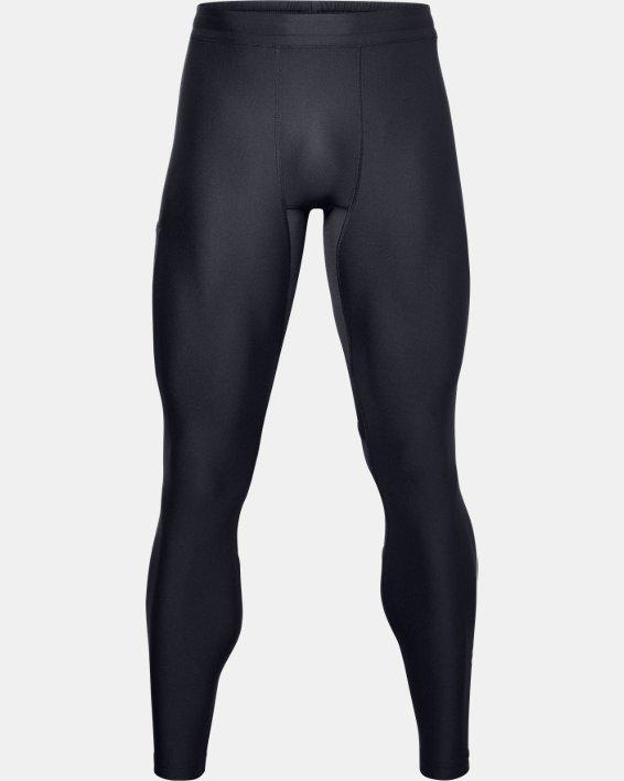 Men's Project Rock HeatGear® Leggings, Black, pdpMainDesktop image number 2