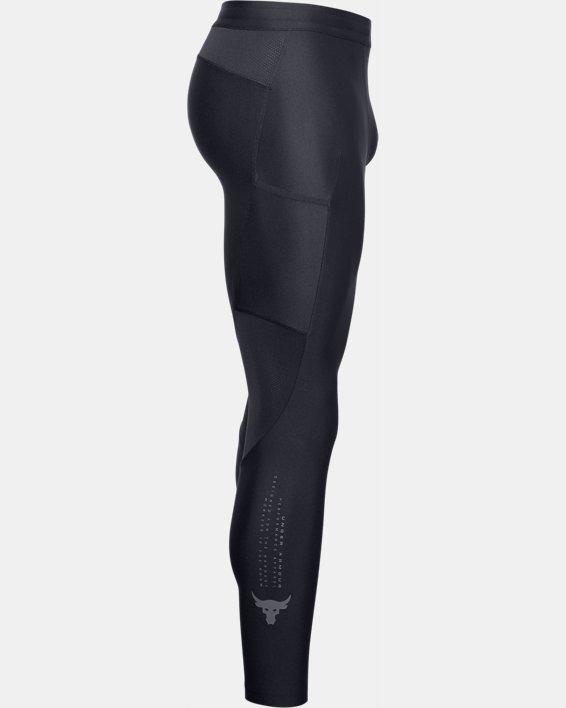 Men's Project Rock HeatGear® Leggings, Black, pdpMainDesktop image number 4