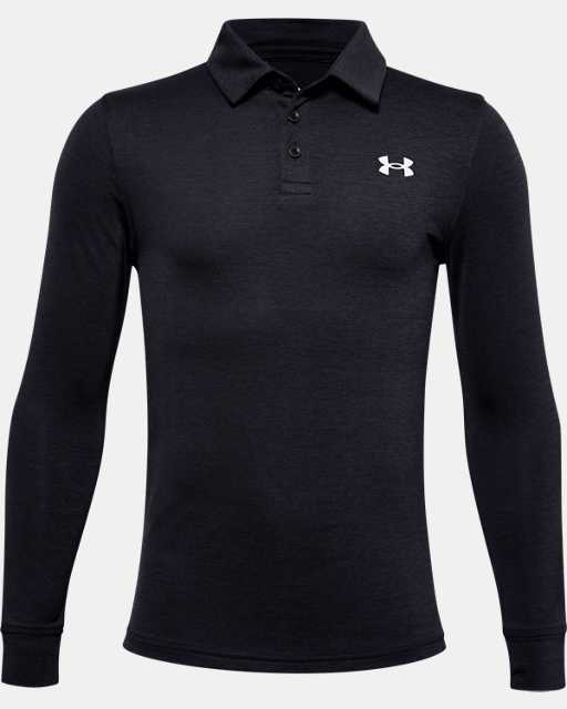 Boys' UA Playoff Long Sleeve Polo