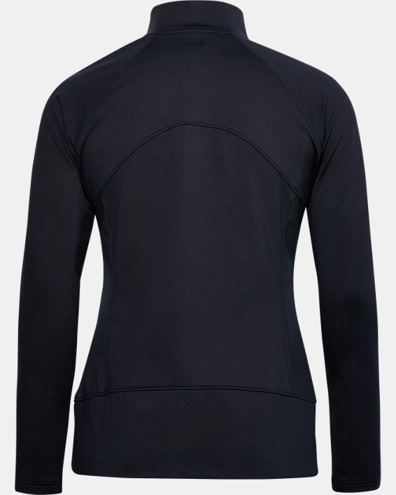 Women's UA Storm Midlayer Full Zip, Black, pdpMainDesktop image number 1