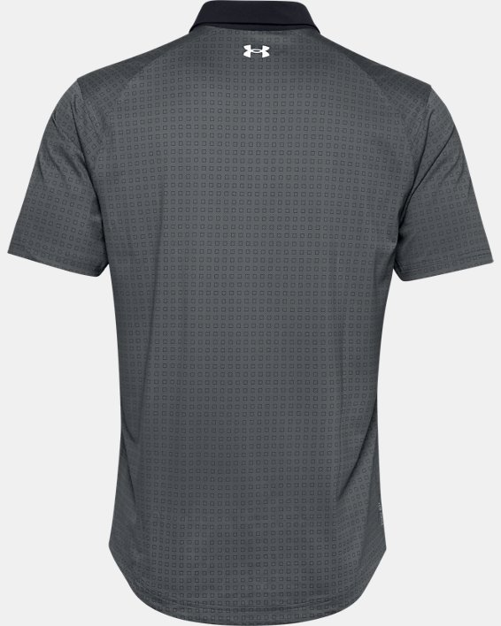 Men's UA Iso-Chill Grid Polo, Gray, pdpMainDesktop image number 4