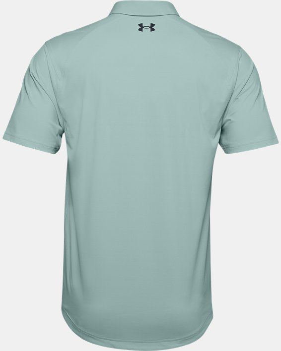 Men's UA Iso-Chill Chest Graphic Polo, Blue, pdpMainDesktop image number 1