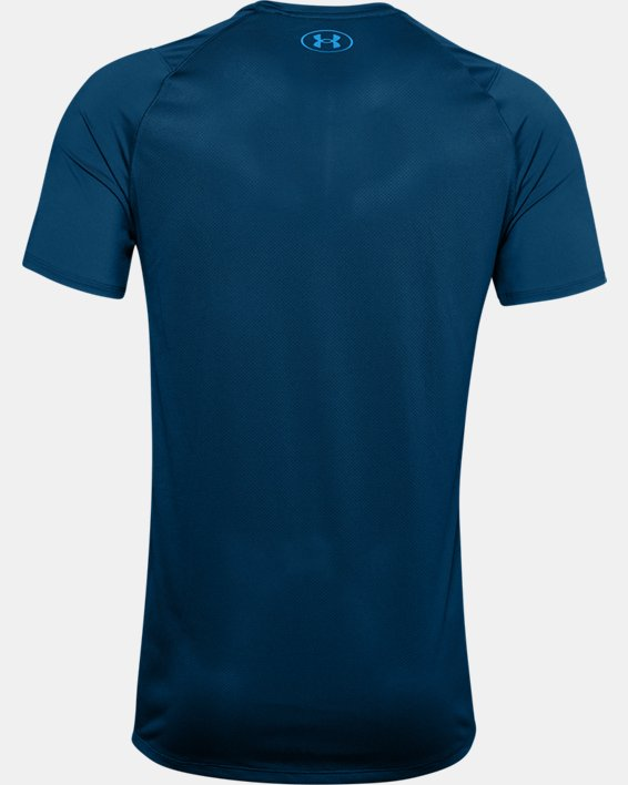 Men's UA MK-1 Graphic Short Sleeve, Blue, pdpMainDesktop image number 5