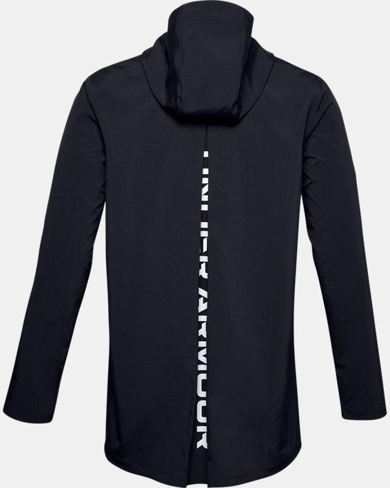 Men's UA Accelerate Terrace Jacket, Black, pdpMainDesktop image number 4