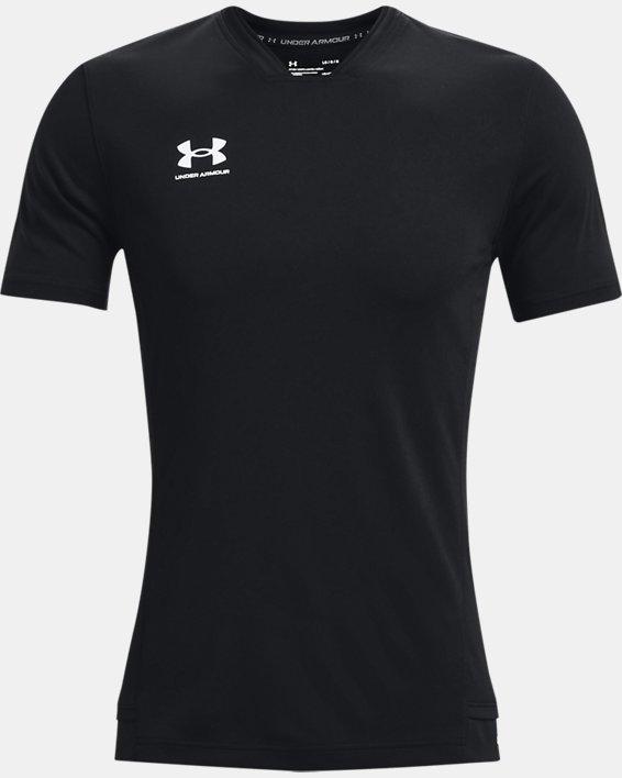 Men's UA Accelerate Premier T-Shirt, Black, pdpMainDesktop image number 4