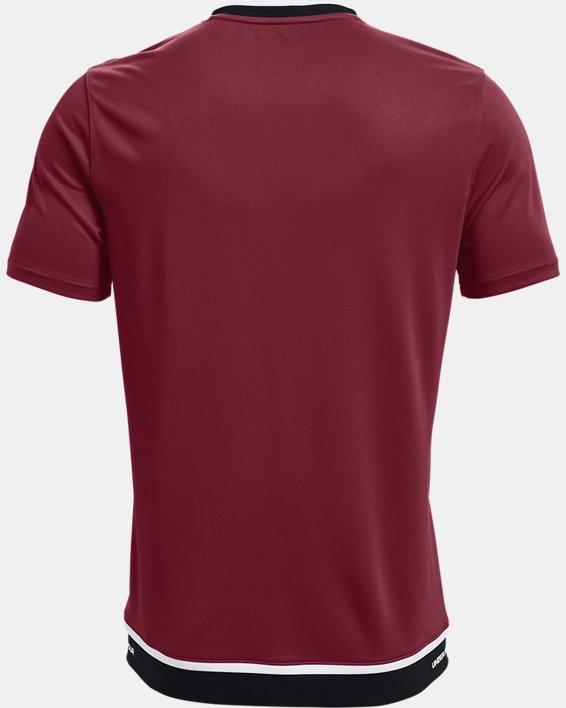 Men's UA Accelerate Premier T-Shirt, Red, pdpMainDesktop image number 4