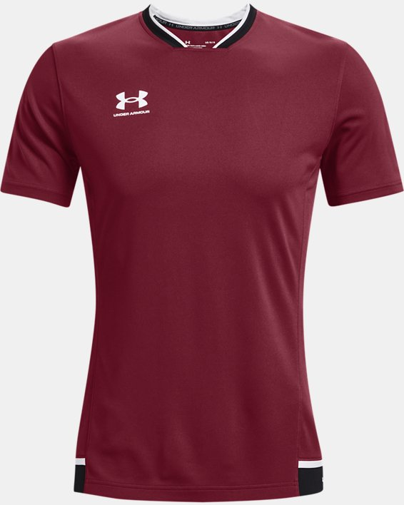 Men's UA Accelerate Premier T-Shirt, Red, pdpMainDesktop image number 3