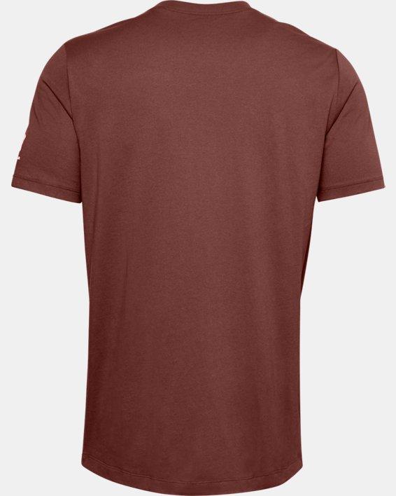 Men's UA Pocket T-Shirt, Red, pdpMainDesktop image number 5