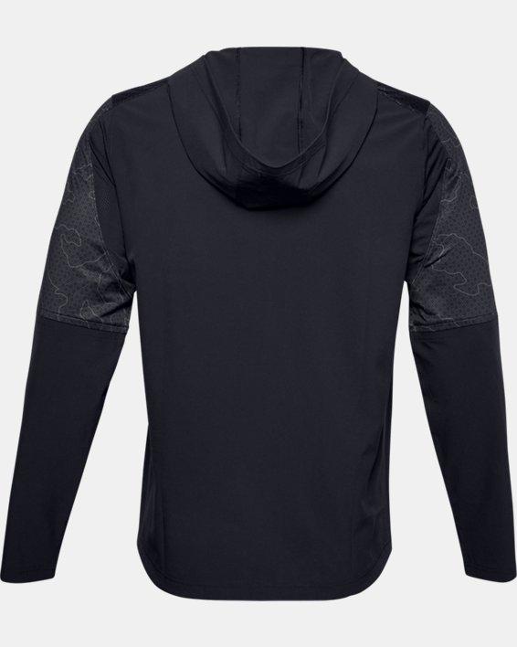 Men's UA Cage Ripthread Jacket, Black, pdpMainDesktop image number 5