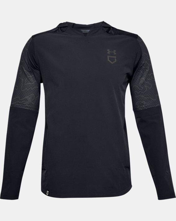 Men's UA Cage Ripthread Jacket, Black, pdpMainDesktop image number 4