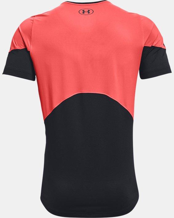 Men's UA RUSH™ HeatGear® 2.0 Short Sleeve, Red, pdpMainDesktop image number 5
