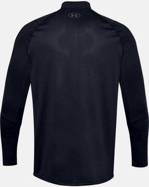 Haut UA MK-1 Graphic ¼ Zip pour homme, Black, pdpMainDesktop image number 4