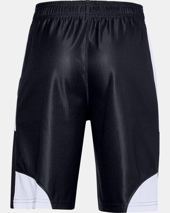 Boys' UA Perimeter Shorts, Black, pdpMainDesktop image number 1