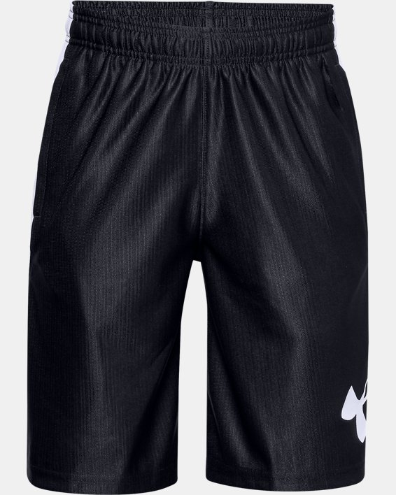 Boys' UA Perimeter Shorts, Black, pdpMainDesktop image number 0
