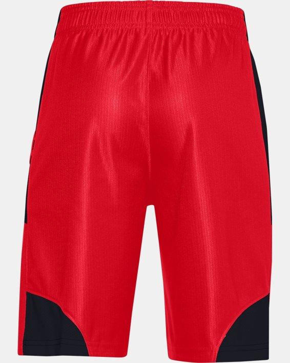Boys' UA Perimeter Shorts, Red, pdpMainDesktop image number 1